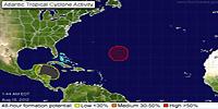 Parcours des cyclones tropicaux sur l'Atlantique