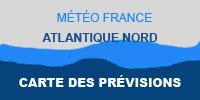 Atlantique Nord Carte des Prévisions